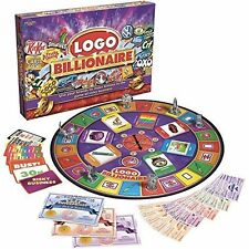Logo Billionaire Board Game Family Night Children Travel Card Games Birthday