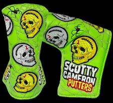 2020 Scotty Cameron Halloween Horrors and Hazards Blade Headcover.New