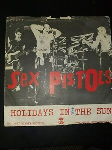 sex pistols holidays in the sun stampa italiana