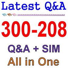 Cisco Best Practice Material For 300-208 Exam Q&A PDF+SIM