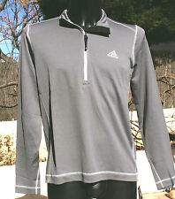NEUF @@ T SHIRT MANCHES LONGUES SWEAT RUNNING HOMME + ADIDAS + M ou XL