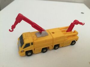 Transformers G1 1989 Stonecruncher & Excavator MICROMASTER constructor squad