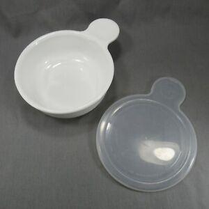Corning Ware Grab It Bowl P-150-B White 15 oz. with Plastic Lid