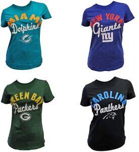 G-III Sports Women's NFL Tailgate T-Shirts - Choose Team