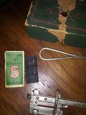 Lot of 11 pcs Vintage Singer Sewing Machine Parts & Accessories