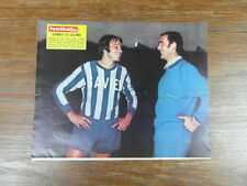 Photo-poster FOOTBALL vintage : PHILIPPE GONDET & BERNARD LELONG à CAEN D III