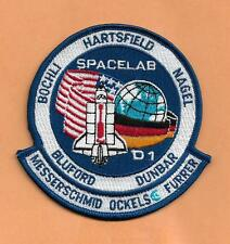 "SHUTTLE CHALLENGER 61-A SPACELAB D1 PATCH   4"" USA GERMANY"