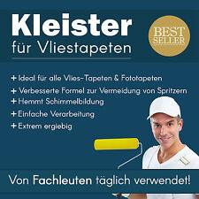Tapetenkleister für Vliestapeten Spezial Kleister Fototapete Tapete 50 g - 1 kg