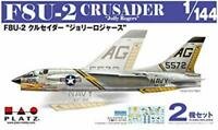 Platts 1/144 F8U-2 Crusader Jolly Rogers 2 Aircrafts Set Plastic Model PDR-6