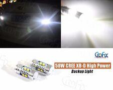 2pcs 921 T10 50W Cree XB-D 8000K High Power LED Projector Reverse Backup Lights