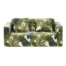 Leaves Printed Thin Stretch Tight Wrap Slipcovers Elastic Sofa Couch Cover Best