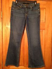 Women's calvin Klein Flare Jeans sz 6 Really Cute Actual 28x28