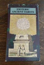 Esoteric Ancient Tarots Deck *Llewellyn* 2000 OCCULT Egyptian ETTEILLA Complete!