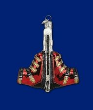 SKI BOOTS OLD WORLD CHRISTMAS GLASS WINTER SPORT SKIING MOUNTAIN ORNAMENT 44068