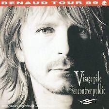 1269 /VISAGE PALE RENCONTRER PUBLIC - RENAUD 2 CD EN TBE BOITIER CHARNIERE CASSE