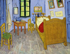 "Vincent Van Gogh ""Van Gogh's Bedroom Arles, 1889"" digital open edition print"