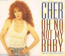 CHER - Oh No Not My Baby (UK 4 Track CD Single)