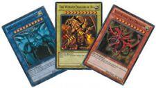 YUGIOH cards ULTRA RARE GOD CARDS SET LC01-EN001 EN002 EN003 MINT!