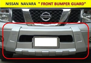 FRONT BUMPER GUARD FOR NISSAN FRONTIER NAVARA D40 2006 - 2013