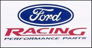 Ford Racing Banner GT GS Falcon Coupe Mustang Holley NOS Drag Race Motorsport V8