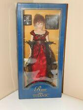 """Franklin Mint - Titanic Rose Official Vinyl 16"""" Portrait Doll"""
