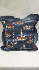 "Light houses 16"" Throw Pillow"