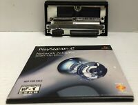 Official PlayStation 2 PS2 HDD Network Adapter  WITH DISC Ships Immediately!