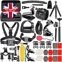 50 In 1 Action Camera Accessory Kit Compatible with GoPro Hero 9 8 Max 7 6 5 4