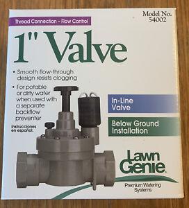"""Lawn Genie 1"""" In-Line Valve Below Ground Model 54002"""