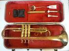 Vintage 1960 Olds Ambassador Trumpet Hard Case 2 Mouthpiece SN 357419