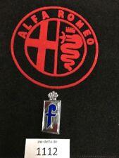 "Emblem para Alfa Romeo Pininfarina ""F"" plástico nuevo [1112]"