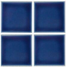 1 SAMPLE of 3x3  Navy Blue Tile for Countertop Backsplash Pool Kitchen Shower