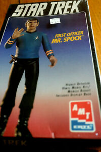 Star Trek AMT First Officer Mr. Spock Ertl Model #8704 Collectors Edition NIB