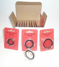 Box of 10 airtite coin capsule holders w 22mm black foam ring - 1/4oz Gold Ealge