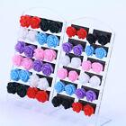 12 Pairs Resin Flower Ear Stud Jewelry Mixed Lots Stud Earrings Display Hot Sale