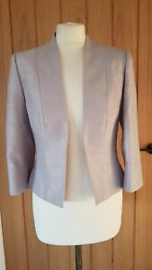 JACQUES VERT silver formal jacket - Size 8