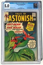 Tales To Astonish #44 (Jun '63, Marvel) 1st App THE WASP! CGC 5.0
