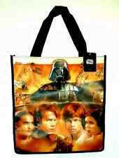 NEW REUSABLE TOTE Darth Vader With Multi Characters Star Wars Disney Bag