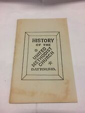 History of the United Methodist Church in Dayton Indiana, PB 1979, Free Shipping