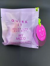 my mood quirk it balmy lips duo gift set christmas stocking filler bnwt