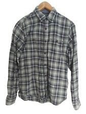 Fat Face Mens Shirts Size XS Checked Green Long Sleeve