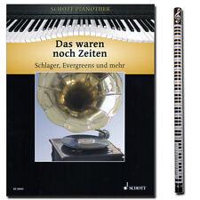 Das waren noch Zeiten - Klavier Noten - Schott Verlag - ED20042 - 9990000415489