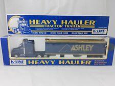 K-LINE ASHLEY FURNITURE Trailvan Heavy Hauler Tractor Trailer Truck
