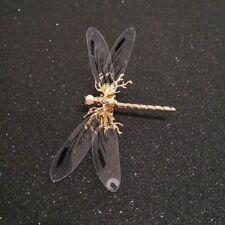 Jewelry Hair Clip Pearl Bride Bridal Headdress Dragonfly Hairpins Wedding Gold