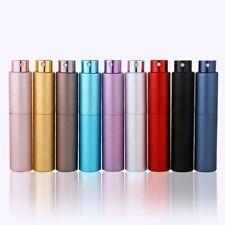 5/8ml Perfume Refillable Portable Spray Rotating Bottle Travel Empty Atomizer