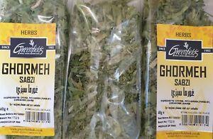 3x40G Sabzi Ghorme , Ghormeh Sabzi–Dried Veg Herbs Persian Herb Stew Greenfields