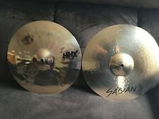 Sabian Hhx Evolution 14 Inch Hi Hat Cymbals - Open Box - Day One Condition!
