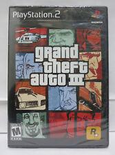 Grand Theft Auto III PS2 Sony Playstation 2 GTA III Brand New Sealed