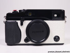 Fujifilm X-pro 1 negro blanco cámara digital Fuji coleccionista rareza OVP Black White