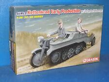 Dragon 1/35 6341 - Sd.Kfz.2 Kettenkrad Early w/ Infateriekarren - Model Kit